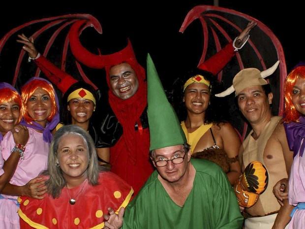 caverna do dragão; carnaval 2013; bahia (Foto: Egi Santana / G1)