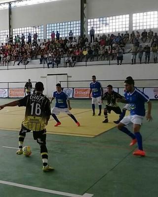 Rio Claro e Volta Redonda jogaram no Ginásio Batatão (Foto: Divulgação)