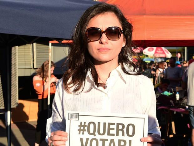 Mônica Iozzi (Foto: Leo Franco/AgNews)