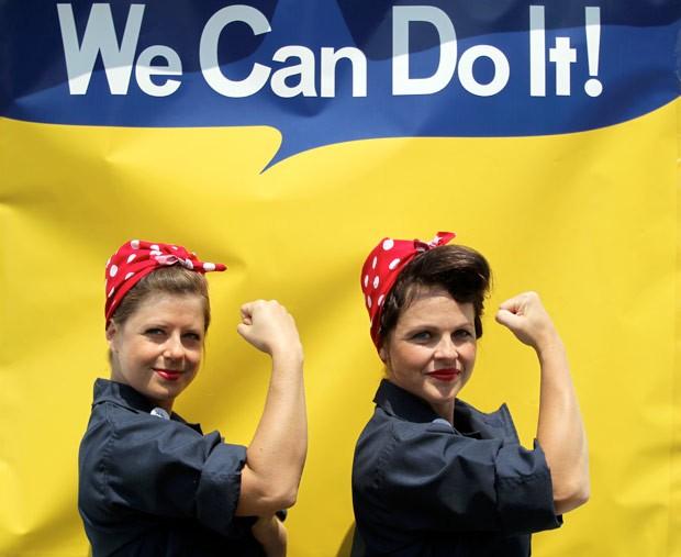 'Rosie, a rebitadeira' é um ícone da cultura americana (Foto: Anda Chu/The Contra Costa Times/AP)