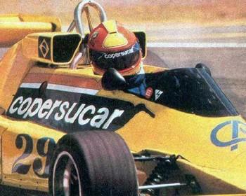 Ingo Hoffmann correu três GPs de Fórmula 1 pela Copersucar Fittipaldi (Foto: Reprodução)