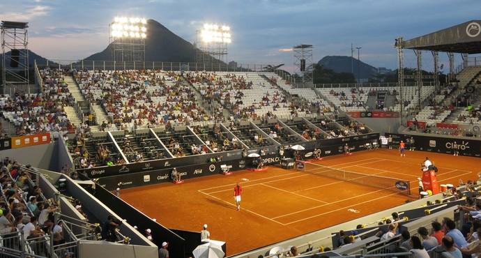 Feijão, tênis, Rio Open (Foto: Thiago Quintella)