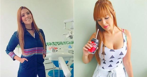 Tamires Peloso: antes e depois (Foto: Reprodução/Instagram)