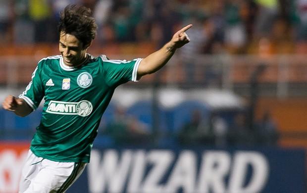 Valdivia, Palmeiras x Bragantino (Foto: Daniel Vorley/Agência Estado)