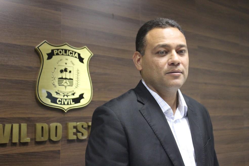 Delegado Riedel Batista destacou o combate a fraudes de concurso no Piauí (Foto: Fernando Brito/G1)