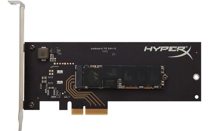 Modelo utiliza format M.2 e é compatível com entradas PCIe (Foto: Divulgação/Kingston)