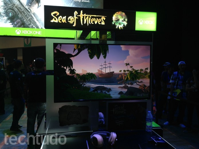 Sea of Thieves é jogo cooperativo do Xbox One (Foto: Felipe Vinha/TechTudo)