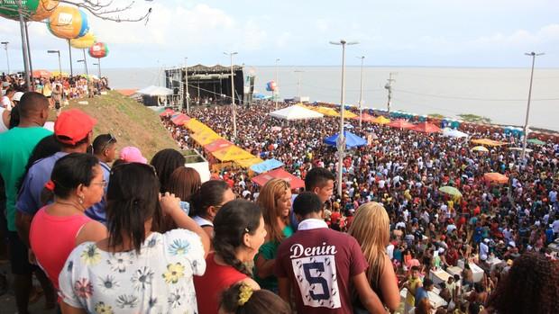 Lava-Pratos levou mais de 150 a São José de Ribamar (Flora Dolores/O Estado)