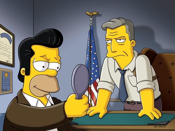 Homer faz um acordo com o FBI e se infiltra na máfia de Tony Gordo (Foto: Divulgação / Twentieth Century Fox)