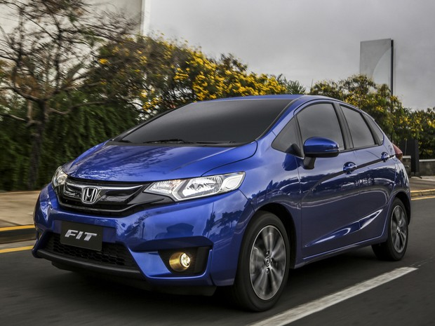 Honda Fit EXL 2015 (Foto: Divulgação / Caio Mattos)