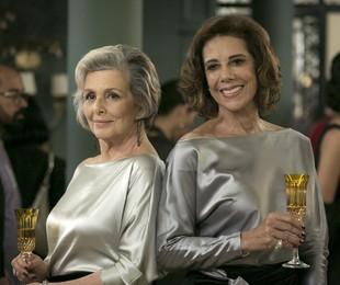 Irene Ravache e Ângela Vieira em cena de 'Pega pega' | Reprodução