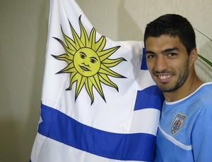 Luis Suárez uruguai (Foto: Edgard Maciel de Sá)