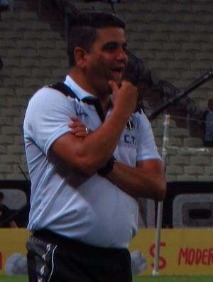 Marcelo Cabo, treinador, Ceará (Foto: Juscelino Filho)
