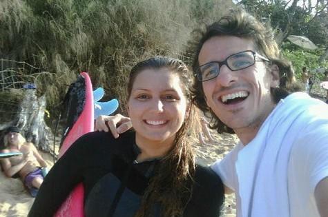 Maya Gabeira e Rodrigo Cebrian (Foto: Reprodução)