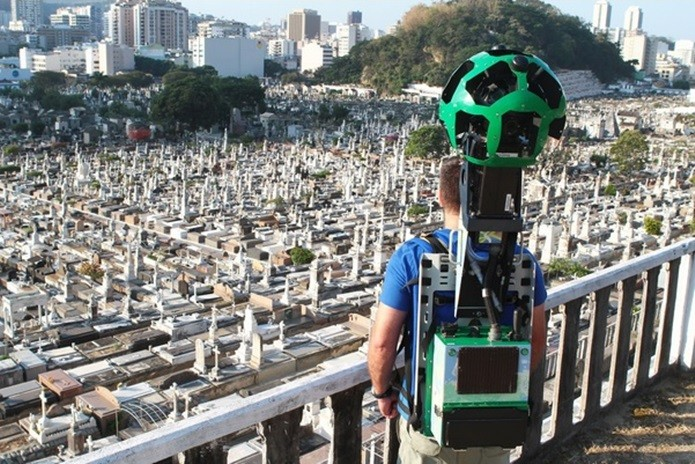 Goole utilizou o Trekker para mapear São João Batista (Foto: Divulgação/Google)
