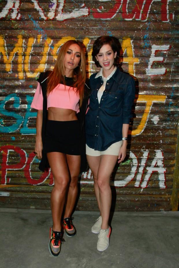 Sabrina Sato e Sophia Abrahão (Foto: Amauri Nehn/Brazil News)