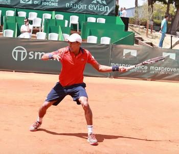 Thiago Monteiro vence e vai à semifinal no challenger de Aix-en-Provence (Foto: Divulgação / Facebook)