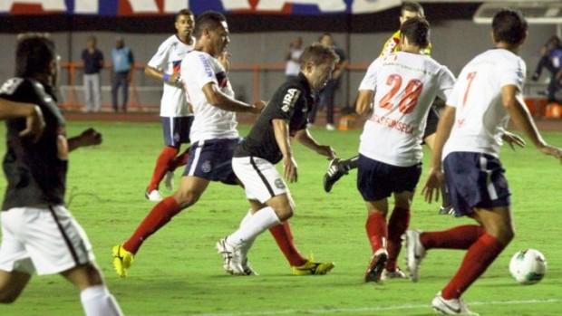 Coritiba empata com o Bahia (Foto: Divulgação/Site oficial do Coritiba)