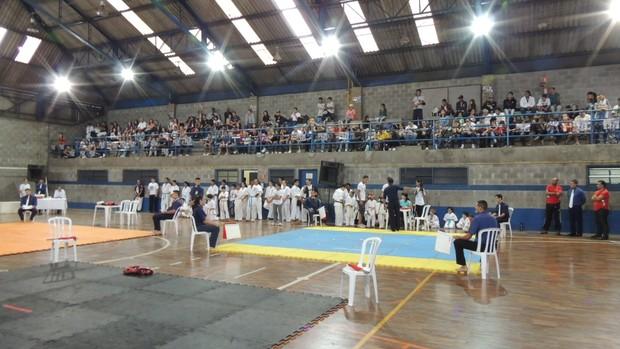 Torneio da Amizade de Karate em Mogi das Cruzes (Foto: Priscila Tovic)