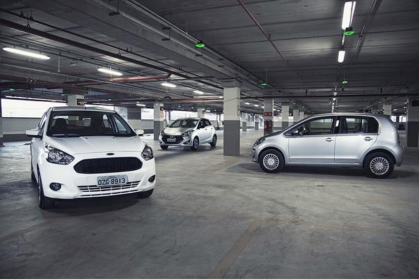 Compartativo Novo Ford Ka Enfrenta Hyundai Hb E Vw Up Foto Autoesporte
