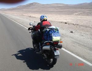 Eduardo Cardoso, piloto de motocicleta em Uberlândia, MG (Foto: Eduardo Cardoso/Arquivo Pessoal)