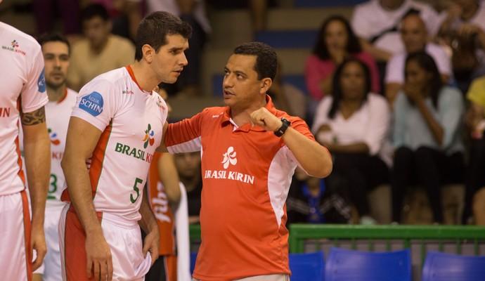 Alexandre Stanzioni Vôlei Campinas Brasil Kirim (Foto: Divulgação / Brasil Kirim)