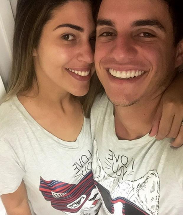 Vivian Amorim e Manoel Rafaski (Foto: Reprodução)