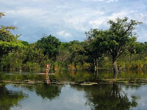 Alter do chão é o destino da vez para quem gosta de natureza e cultura indígena (Foto: Raoni Felix)