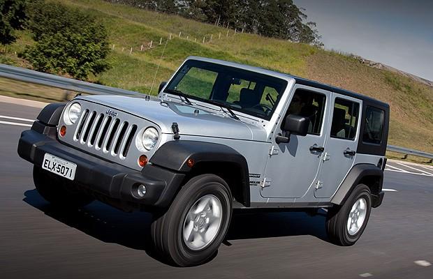 Jeep_Wrangler (Foto: Divulgação)