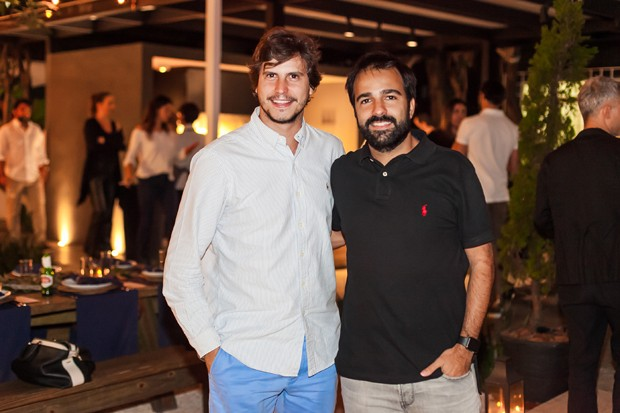 Pedro Braun Sampaio e Bruno Dias (Foto: Charles Naseh )