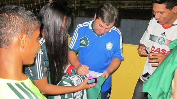 Gilson Kleina técnico Palmeiras (Foto: Marcelo Hazan)