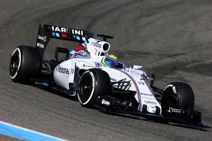 Com foco no comportamento da Williams, Felipe Massa fez o quinto melhor tempo (Foto: Getty Images)