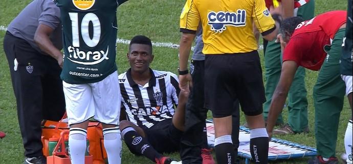 Jesiel; Atlético-MG (Foto: Reprodução/TV Globo)