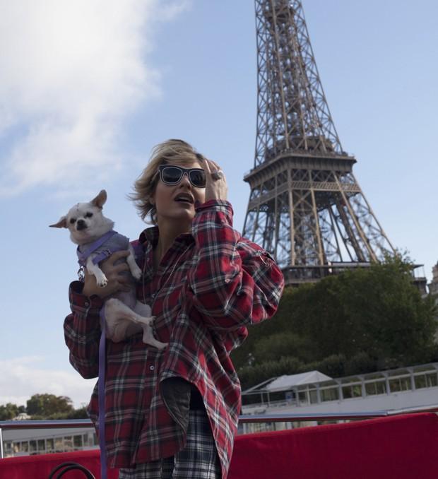 Andressa Salomone em Paris (Foto: Higor Bastos)