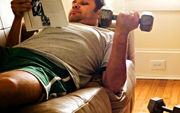 Sedentário euatleta (Foto: Getty Images)