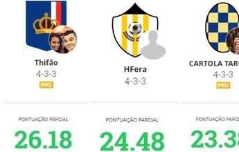 Times Top-3 da liga do GE Roraima estão abaixo dos 30 pontos na parcial
