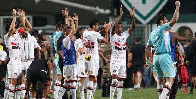 Atlético-MG x São Paulo (Foto: Rubens Chiri/saopaulofc.net)