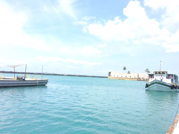 Travessias entre Salvador e Mar Grande (Foto: Juliana Almirante/G1)