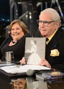 Regina Echeverria lança livro (Ricardo Martins/Programa do Jô)