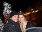 De férias, Luiza Valdetaro faz viagem romântica com o marido