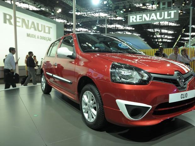 O novo Renault Clio (Foto: Flavio Moraes/G1)