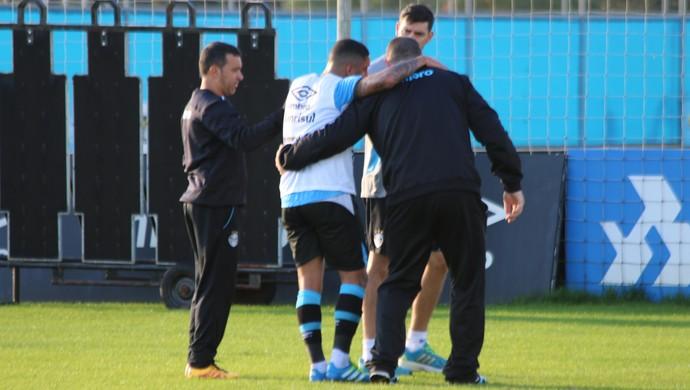 Wallace Oliveira Grêmio (Foto: Eduardo Moura/GloboEsporte.com)
