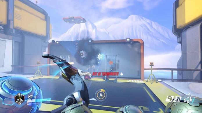 Zenyatta em ação em Overwatch (Foto: Reprodução/Felipe Vinha) (Foto: Zenyatta em ação em Overwatch (Foto: Reprodução/Felipe Vinha))