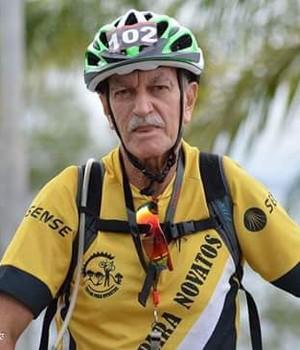 Antônio ciclista (Foto: Divulgação/Arquivo pessoal)