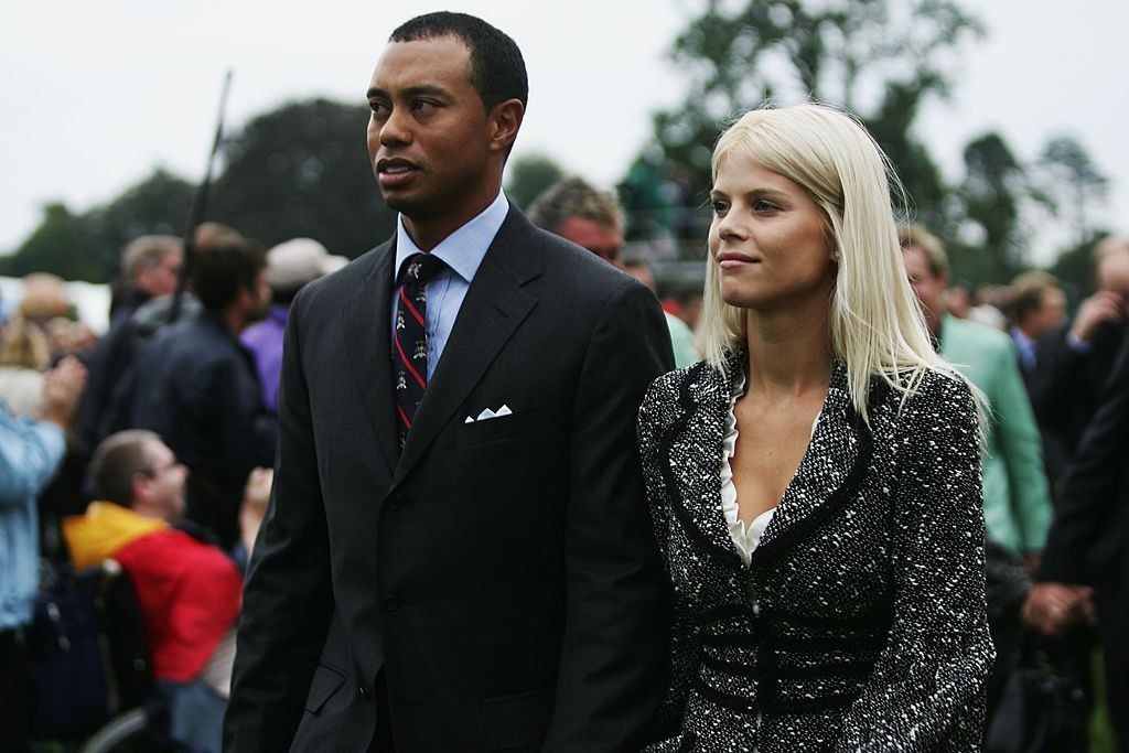 Elin Nordegren e Tiger Woods (Foto: Getty Images)