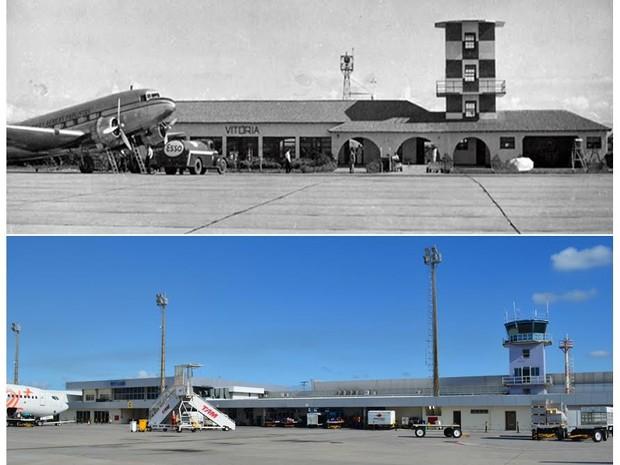 Aeroporto de Vitória completa 42 anos em 2017 (Foto: Divulgação / Infraero)
