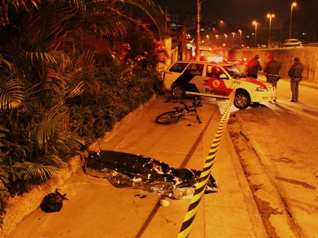 Ciclista foi encontrado morto no início da madrugada deste domingo (25); caso será investigado (Foto: Nivaldo Lima/Futura Press/Futura Press/Estadão Conteúdo)