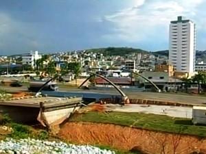 Nova Serrana possuía 73.699 habitantes em 2010, segundo o IBGE (Foto: TV Integração/Reprodução)