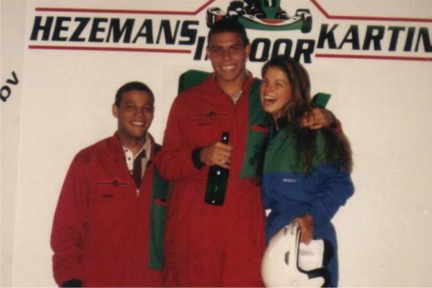 Viviane Brunieri e Ronaldo (Foto: Reprodução/Facebook)