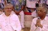 Caetano revela 'timidez' de tocar com Gil e troca elogios com o amigo no Esquenta!